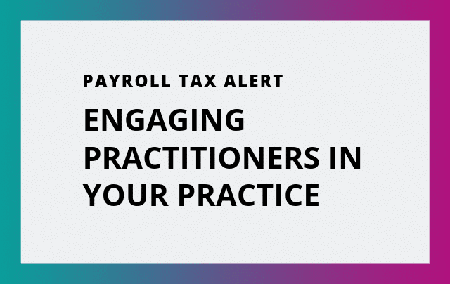Engaging Practitioners In Your Practice