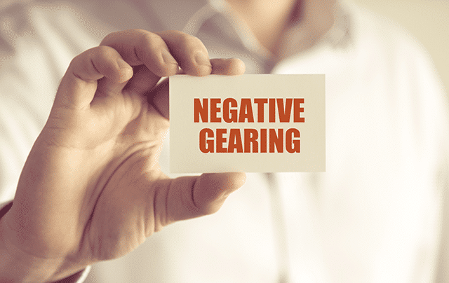 Negative gearing and shares